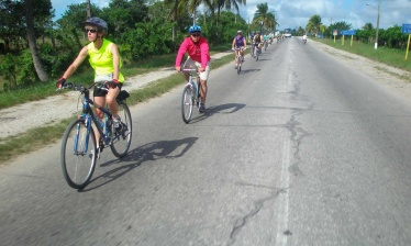 Western part of Cuba by bike